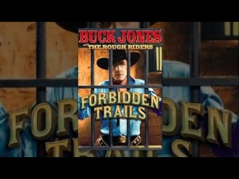 Forbidden Trails | The Rough Riders | Buck Jones | Full Length Western Movie | 720P | Hd | English