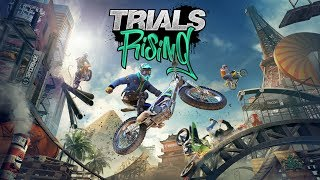 Trials Rising - First 14 Minutes of Gameplay [4K 60FPS]