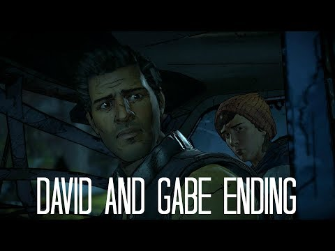 The Walking Dead Game Season 3 Episode 5 - Ending 2 (David & Gabe & Conrad)