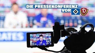 RELIVE: Die Pressekonferenz vor dem Spiel gegen Dynamo Dresden