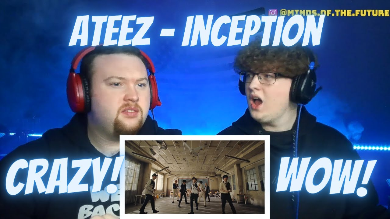 FIRST TIME REACTING TO ATEEZ (에이티즈) - 'INCEPTION' MV | Reaction!!