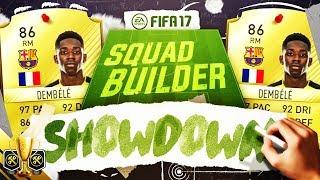 STILL UNBEATEN!? ✅ THE SQUAD BUILDER SHOWDOWN CUP! 🏆 BARCELONA DEMBELE - FIFA 17 ULTIMATE TEAM