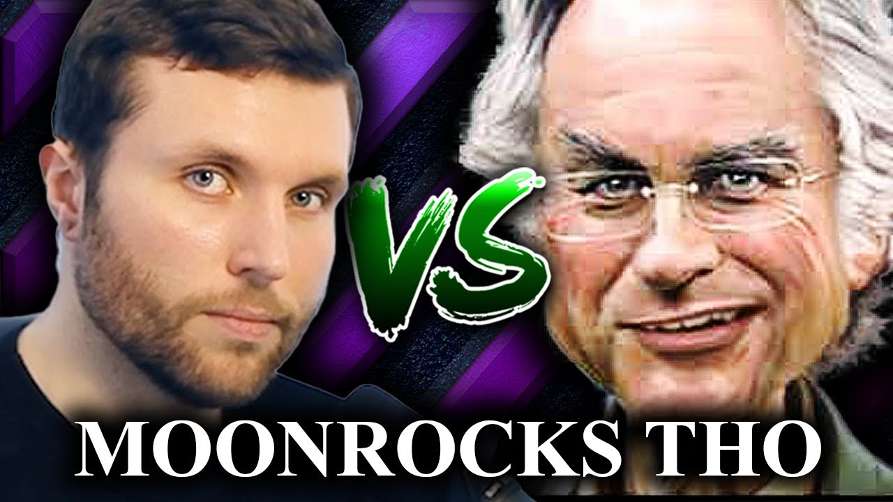 Philosophy PhD student Vs Darth Dawkins Debate Condensed (Moonrocks Edition)