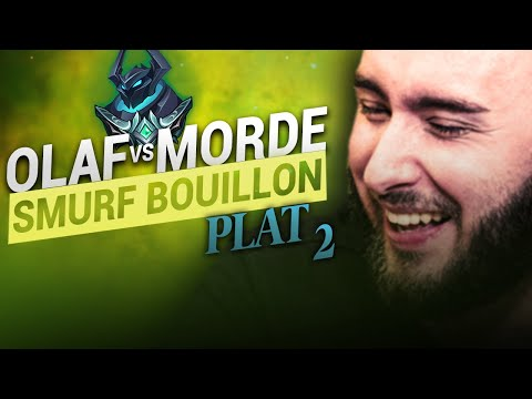 Vidéo d'Alderiate : ALDERIATE & AKABANE - SMURFING BOUILLON - OLAF VS MORDEKAISER - LA GAME MAUDITE SANS RÉUSSITE
