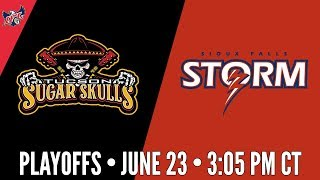 IFL Playoffs | Tucson Sugar Skulls at Sioux Falls Storm