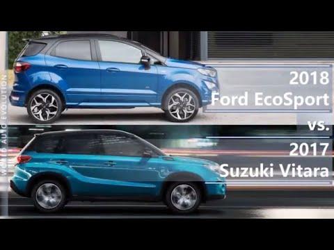 2018 Ford EcoSport vs 2017 Suzuki Vitara (technical comparison)
