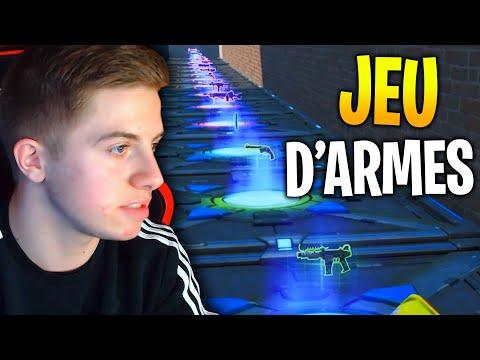 JEU D'ARMES INSANE CONTRE LA TEAM CROÛTON SUR FORTNITE CRÉATIF !!!