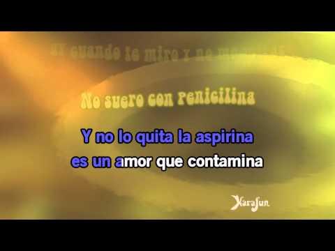 Karaoke La Bilirrubina - Juan Luis Guerra *