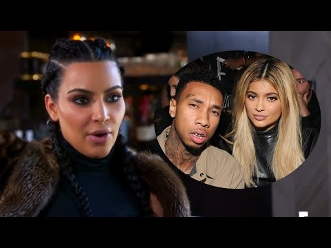 "Kim Kardashian Felt ""Uncomfortable"" With Kylie & Tyga Dating & Broke Blac Chyna's Heart"