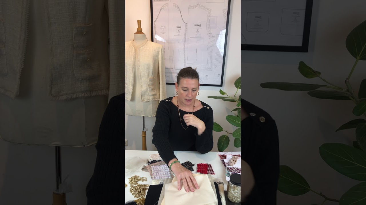 Download Introduction videoThe French Couture Jacket Online course