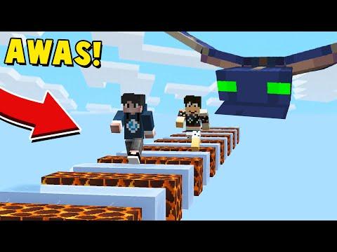 AWAS! DI KEJAR MONSTER PHANTOM SANGAT BUAS - Minecraft Indonesia
