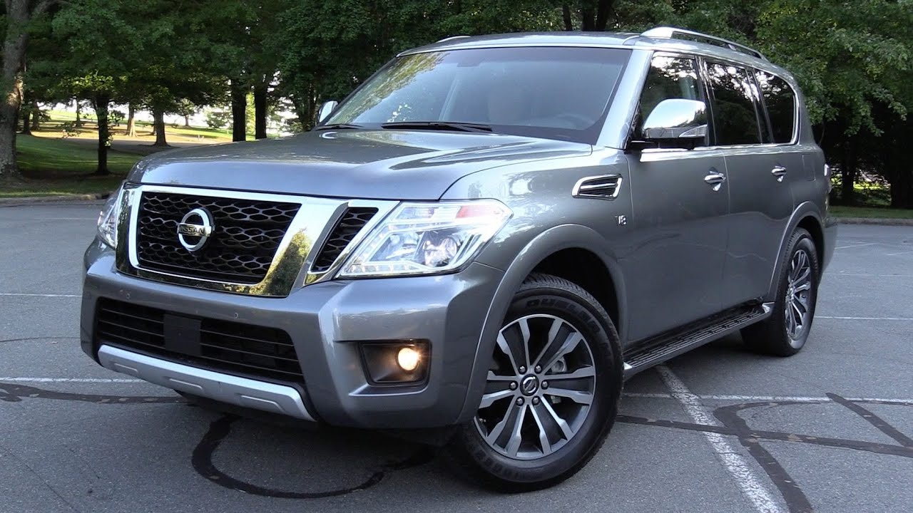 2017 nissan armada sl 4wd test drive review youtube. Black Bedroom Furniture Sets. Home Design Ideas