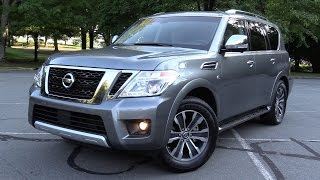 2017 Nissan Armada SL 4WD - Test Drive & Review