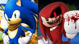 Sonic Boom vs SONIC EXE Knuckles