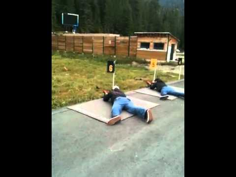 Me firing a 22 at the olympic range