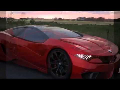 BMW M10 GT4 concept 2013 - YouTube