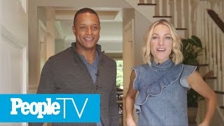 Craig Melvin And Lindsay Czarniak Show Off Their Favorite Room In The House | PeopleTV