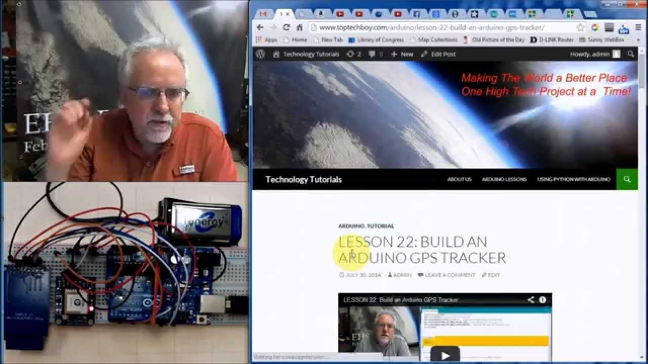 LESSON 23: Arduino GPS with Data Logger   Technology Tutorials