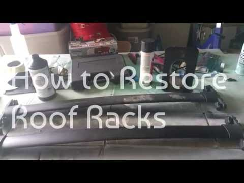 How to Restore Car Roof Racks (Paint)