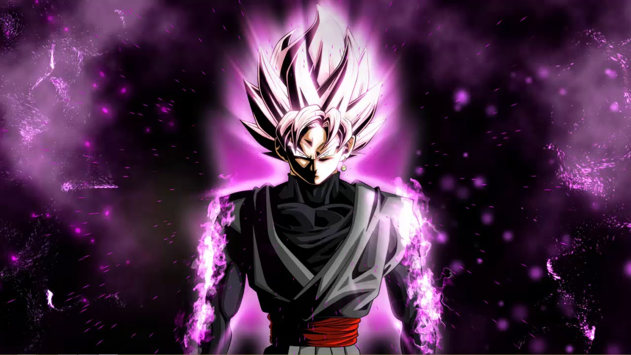 Black Goku Wallpaper Engine Live Wallpaper Dragonball