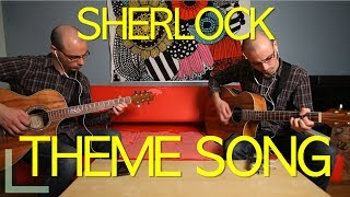 Sherlock Theme - Acoustic Guitar - LIVE Recording