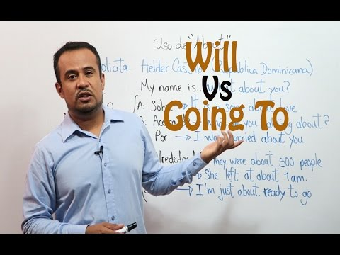 FUTURO En INGLES: Will y Going To