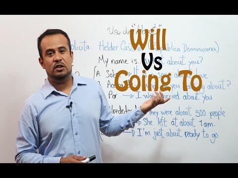 FUTURO En INGLES: Will y Going To