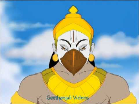Krishna & Garuda - The Birth Of Garuda