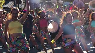 La Gritona Comparsa en el 1er Festival de Marioneta Gigantes, Valparaíso Marzo 2018