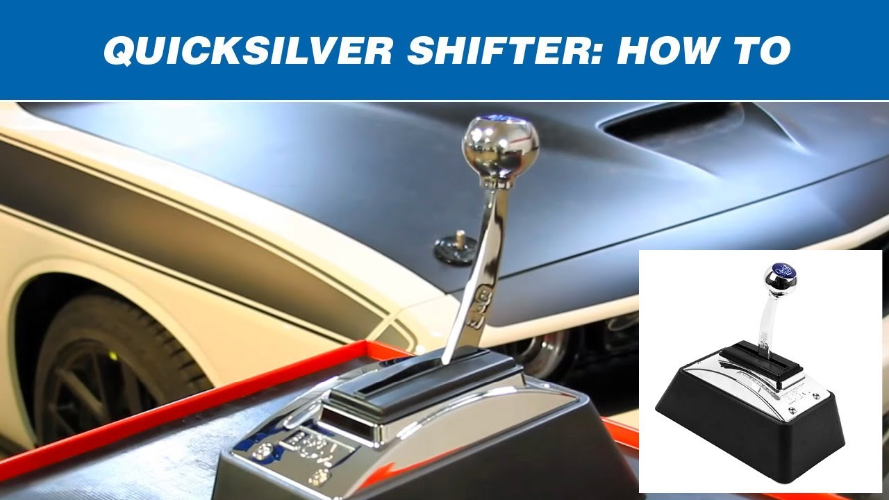 Shift a B&M QuickSilver Shifter - YouTube