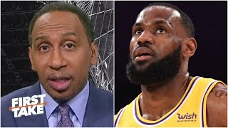Stephen A. breaks down how LeBron should adjust without Anthony Davis | First Take