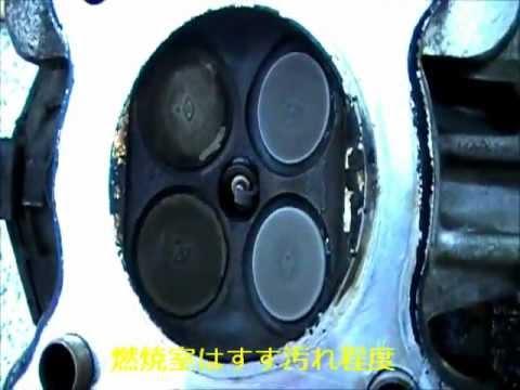 SOD-1効果検証 ヤマハシグナス 125cc  カーボン噛み予防