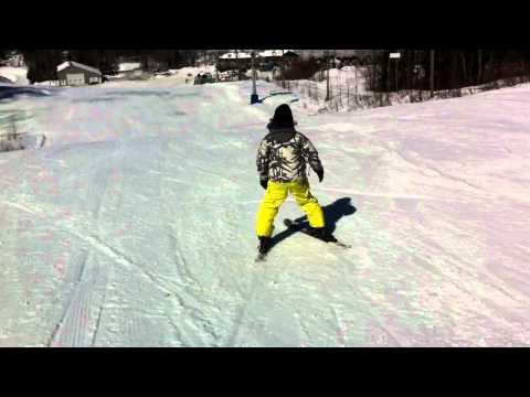 1ière journée en ski