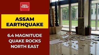 Assam Earthquake: 6.4 Magnitude Quake With Epicentre At Tezpur, Two Aftershocks Jolt Assam