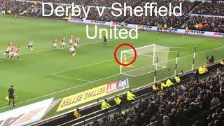 Derby v Sheffield United vlog. Kicking off 2018