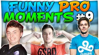 CS:GO - FUNNIEST PRO MOMENTS #9 FT. pashaBiceps, GeT_RiGhT, f0rest & More!