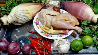 Video Mix 2 Banana Flowers Chicken Recipes, Cooking Khmer Food by Yummy Yummy download MP3, 3GP, MP4, WEBM, AVI, FLV Desember 2017