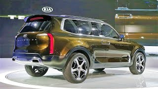 2019 Kia Telluride - Exterior and Interior | Kia's Future Three Row Crossover