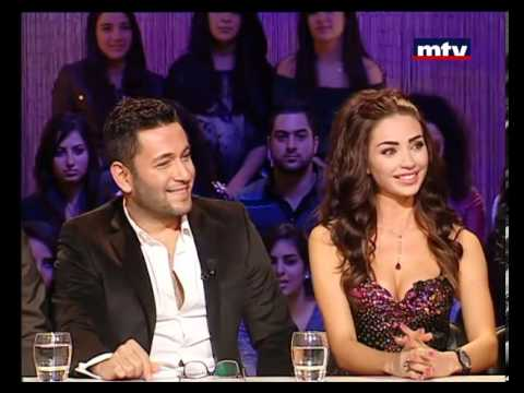 Talk of The Town 03 Jan 2013 - Dalida Khalil and Ziad Bourji حديث البلد