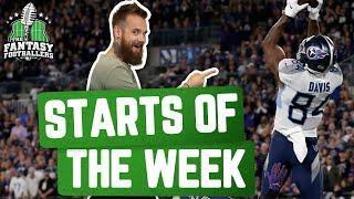 Fantasy Football 2020 Starts of the Week Week 13 Breakdown Spotty Starts Funny Jokes Ep 996