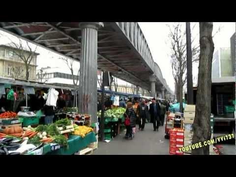 marché  Barbès