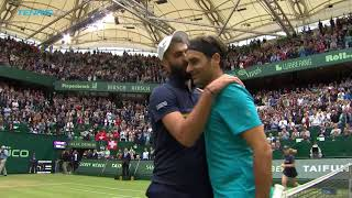 Federer Escapes Paire; Coric Beats Basilashvili |  Halle 2018 Highlights Day 4