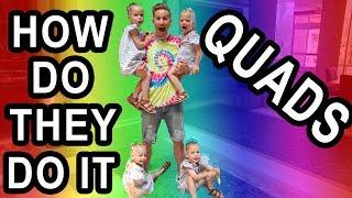 PARENT SWAP WITH GARDNER QUAD SQUAD? Parents of Two Sets of Twins! QUADRUPLETS