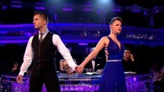 Kimberley Walsh & Pasha Tango to