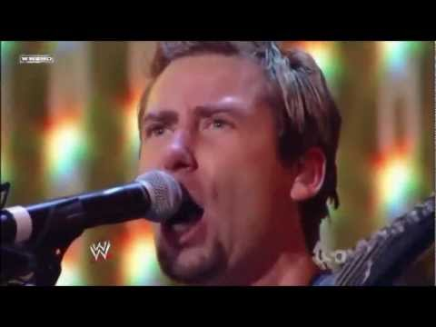 WWE Tribute To The Troops 2011 - Nickelback