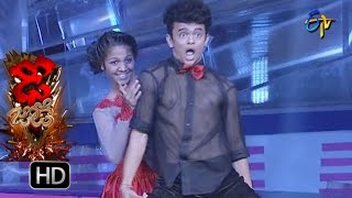 Sanketh and Priyanka Performance - Dhee Jodi - 17th August  2016 - ETV Telugu