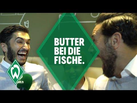 Butter bei die Fische: Fan-Edition mit Claudio Pizarro, Nuri Sahin & Max Kruse | SV Werder Bremen