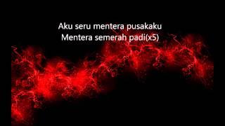 Spider & M. Nasir - Mentera Semerah Padi [lirik] [HD]