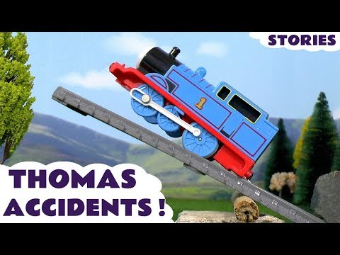 Thomas and Friends GIANT Thomas Pranks Toy Trains Stories and Episodes for Children and Kids TT4U