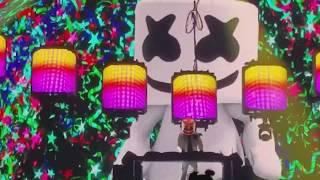 2018 Tour Marshmello drops Alone live @ Bill Graham Civic Auditorium, SF.